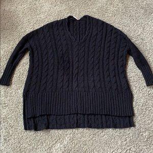 Free People Oversized Pullover Sweater Medium